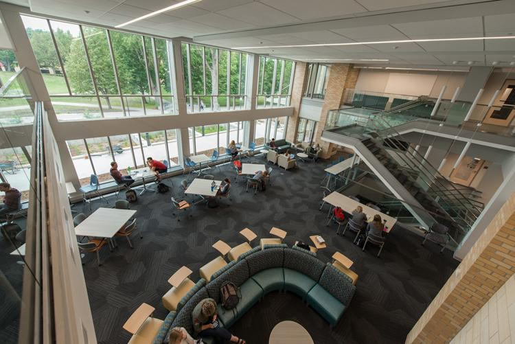 Concordia College's redesigned Integrated Science Center