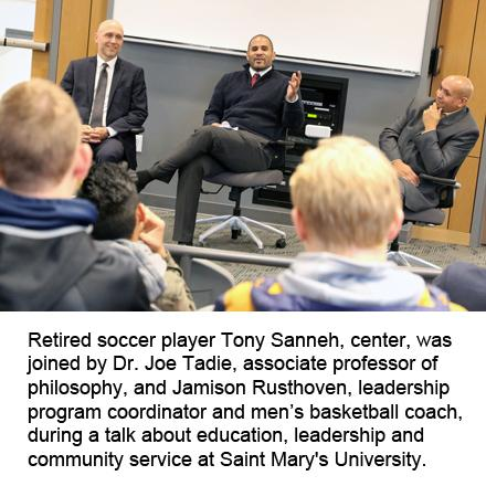 retired professional soccer player Tony Sanneh