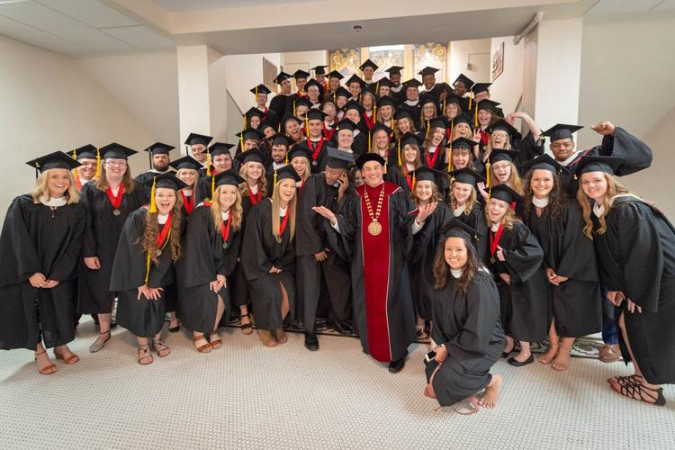 Bethany Lutheran College spring commencement 2018