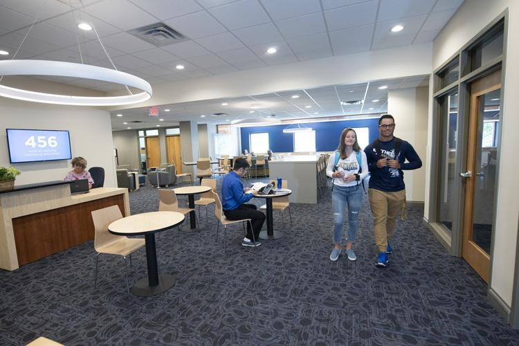 new 7,000-square-foot space for Bethel University's undergraduate Department of Business and Economics