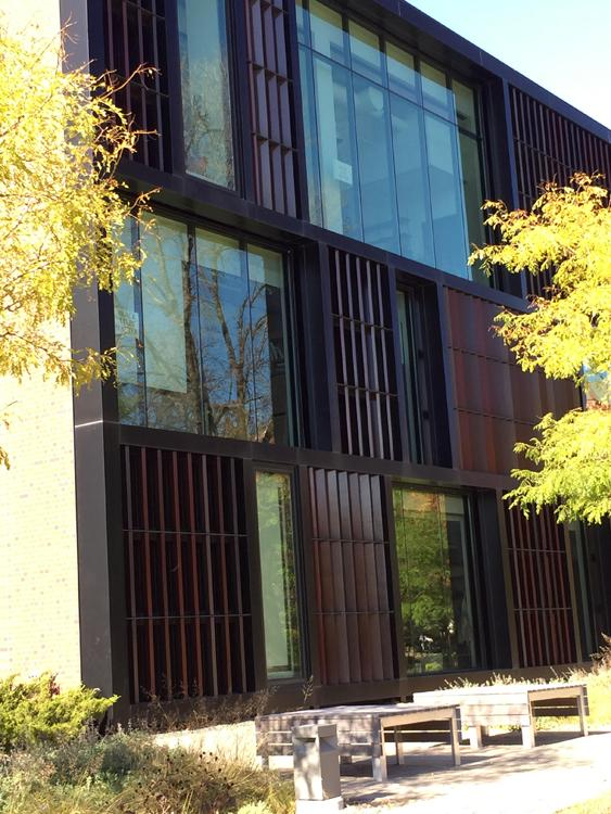 Joan Adams Mondale Hall of Studio Art opened in 2014 at Macalester College
