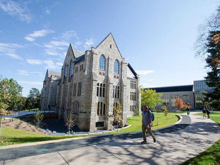 renovated Holland Hall at St. Olaf College