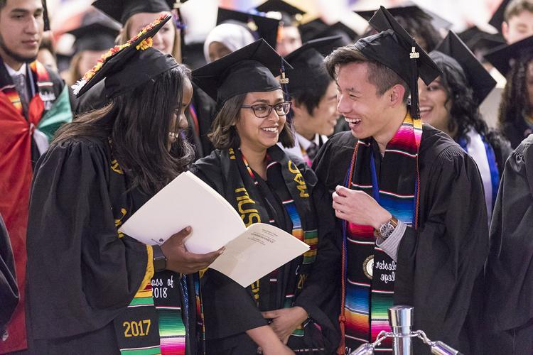 Macalester College commencement May 12, 2018