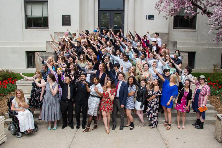 MCAD's graduating class of Spring 2018